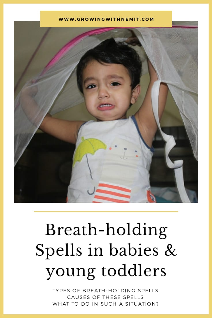 Breath holding spells in babies and young toddlers