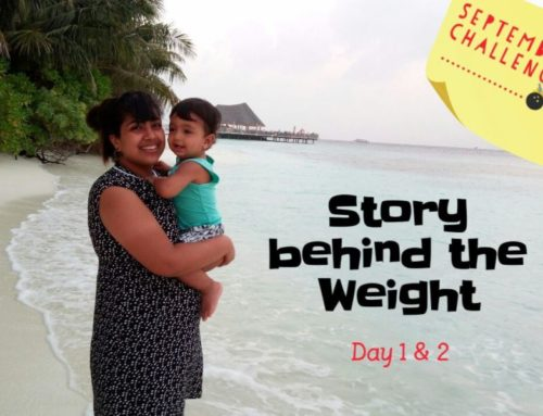 Story Behind the Weight- September Challenge