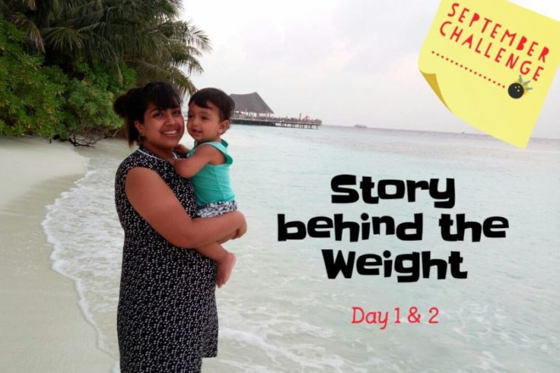 Story behind the weight challenge