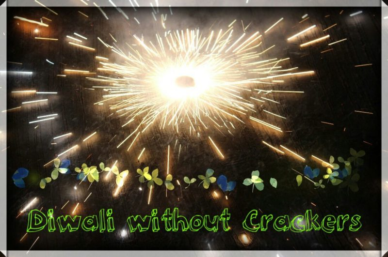 This Diwali No to Crackers
