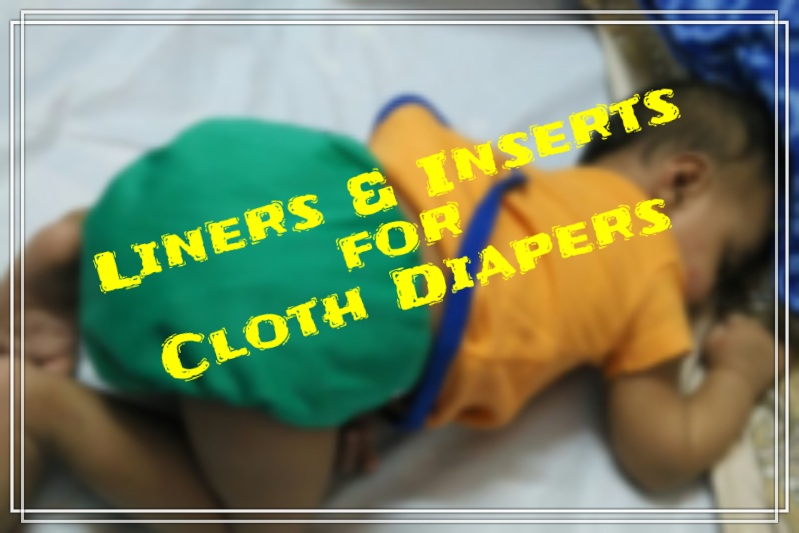 Cloth Diaper Liner and Inserts