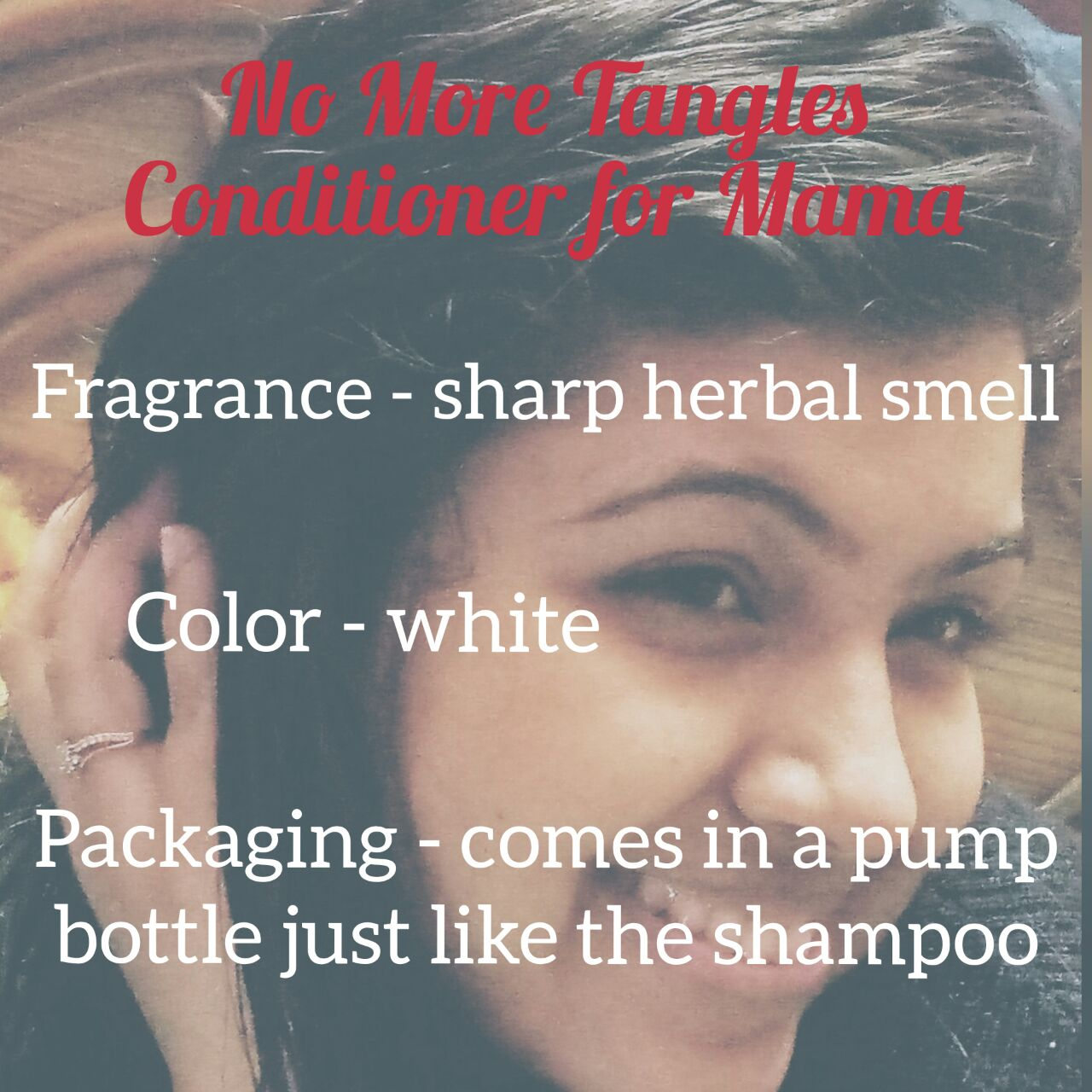 Mamaearths No more tangles conditioner