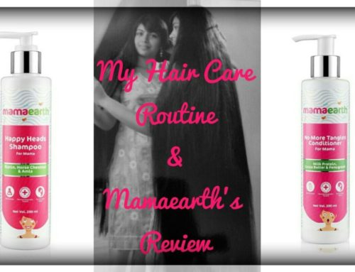 Hair Care Routine and Review of Mamaearth's Shampoo & Conditioner for Mama