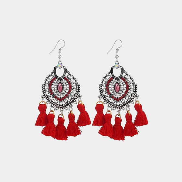 Classy tassel earrings