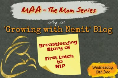 The Mom Series Post from Sapna telling her breastfeeding story