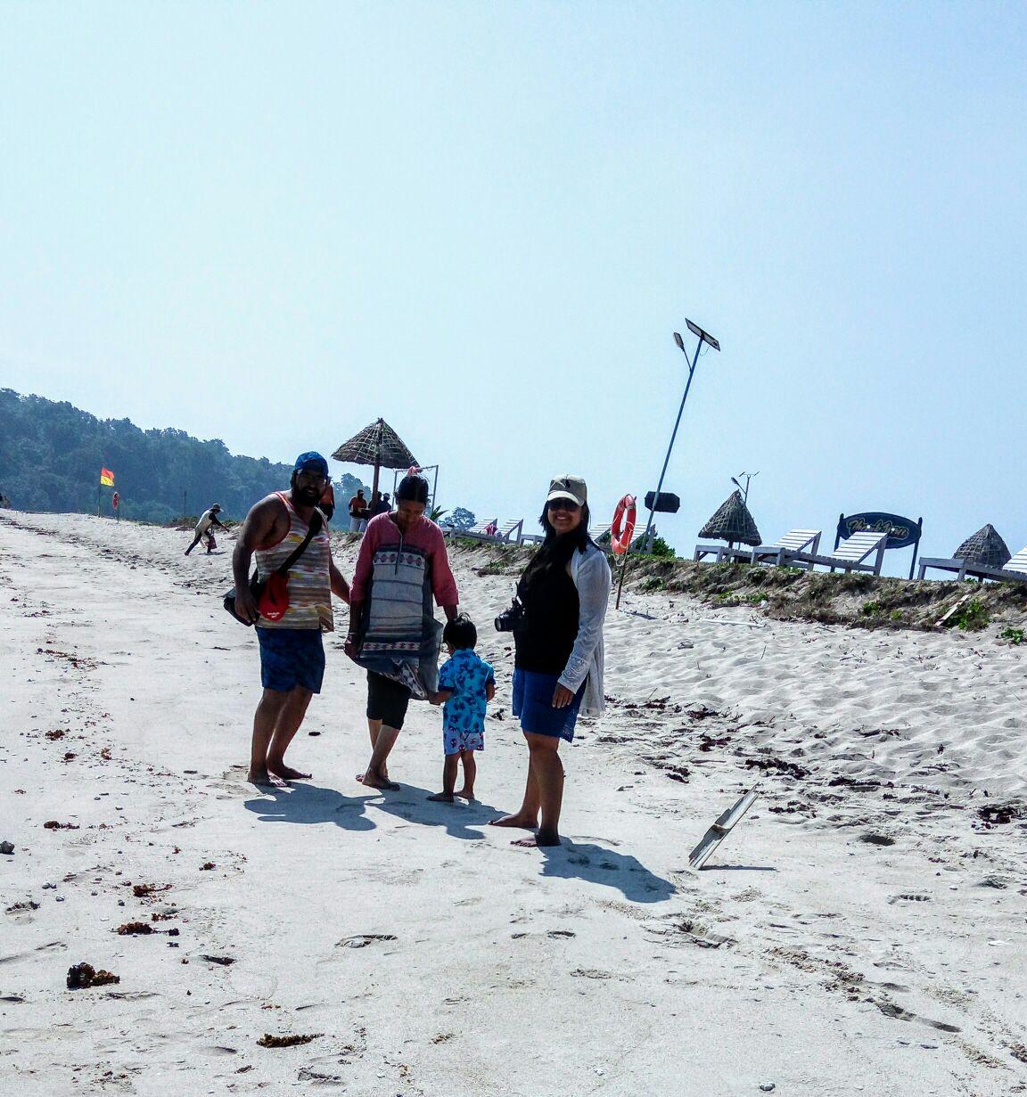 Smith Island beach