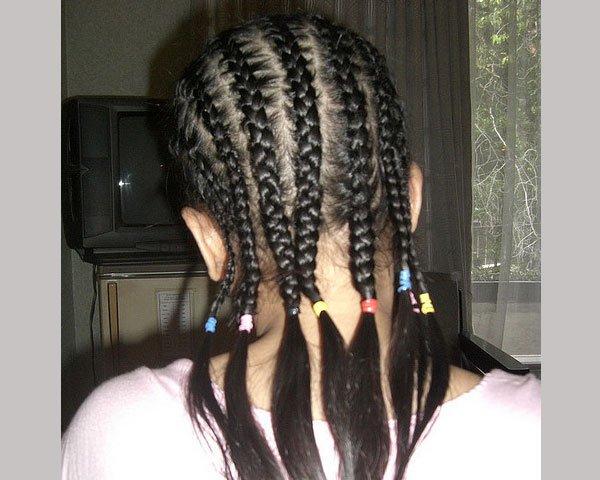 Braiding for curls