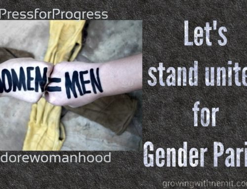 Hey Women! You are no less. Let's stand united for gender equality.