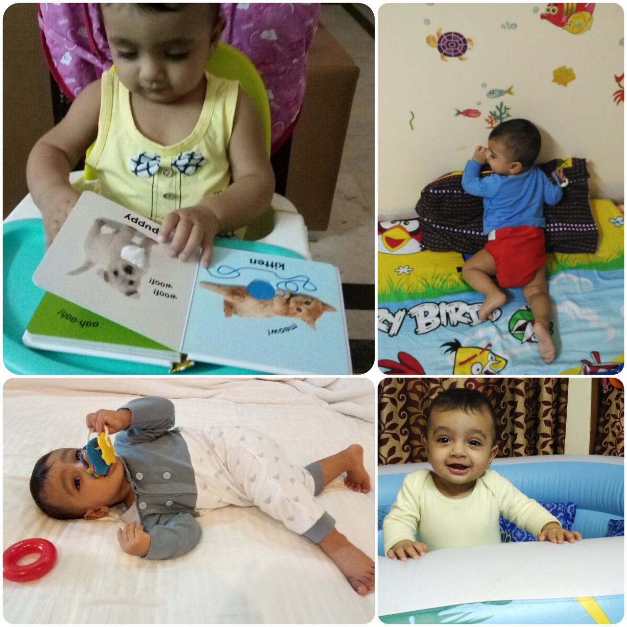 Activities for 6 to 12 months old
