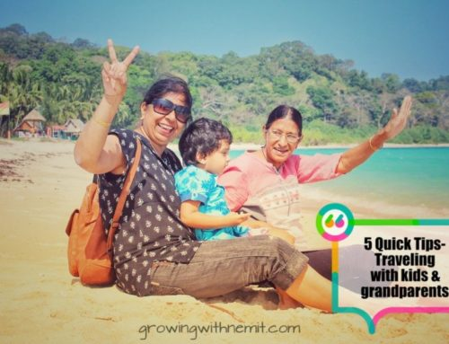 5 Quick Tips when planning a vacation with kids and grandparents