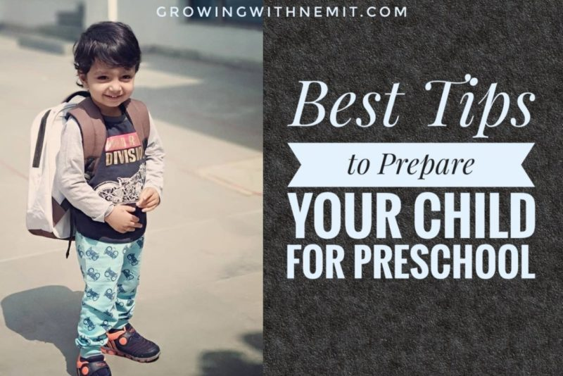 Best Tips to prepare your child for preschool