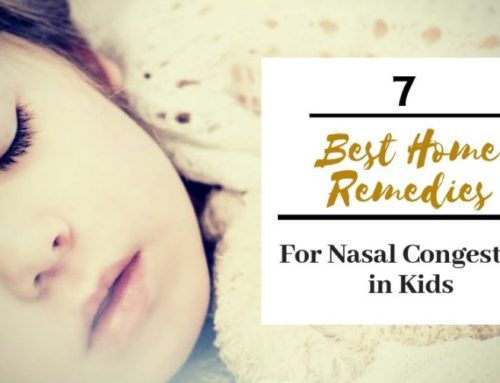 7 Best Home Remedies for Nasal Congestion in Kids