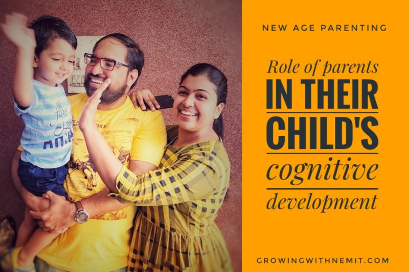 Role of parents in the child's cognitive development