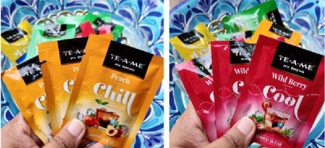 Ice brew teas from TEA-A-ME
