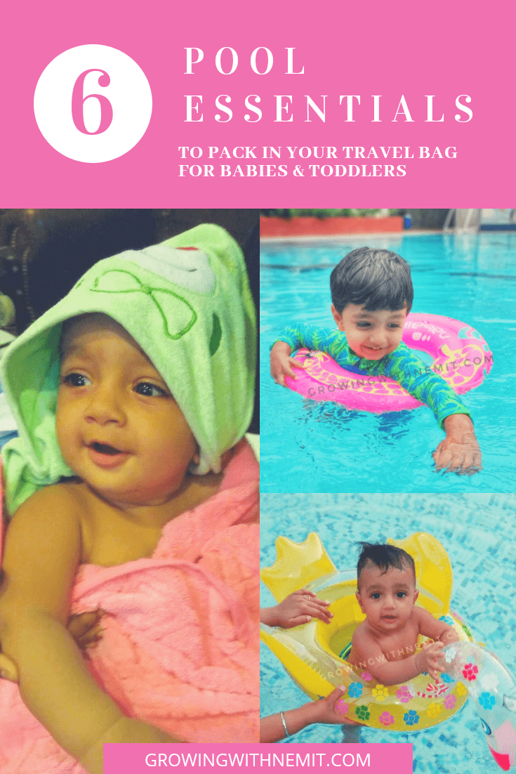 6 pool essentials to pack in your travel bag for kids - pool time