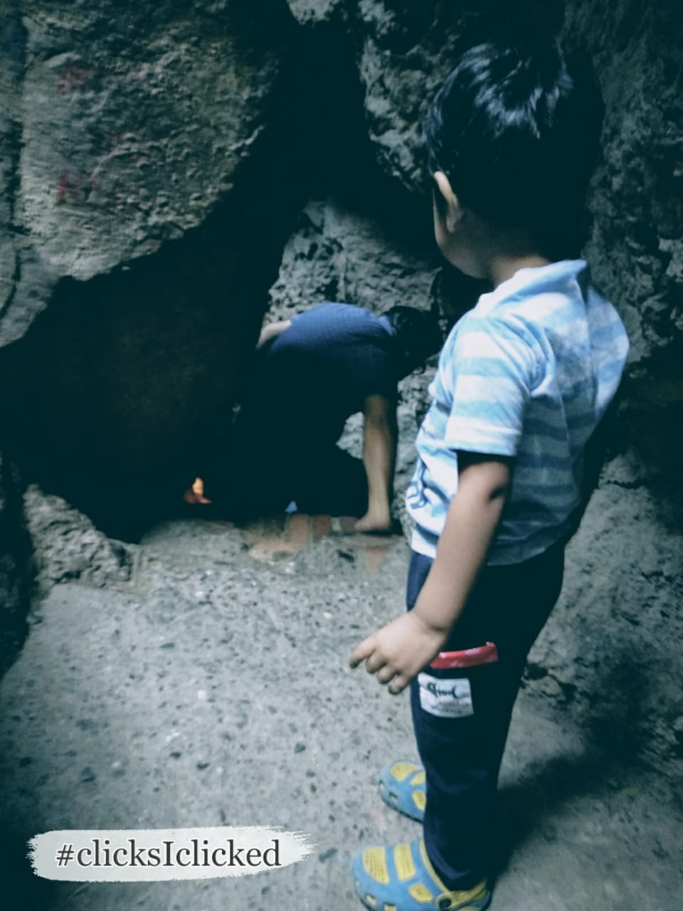 Caves at Nainital, Eco cave park Family Adventure Trips with a Toddler