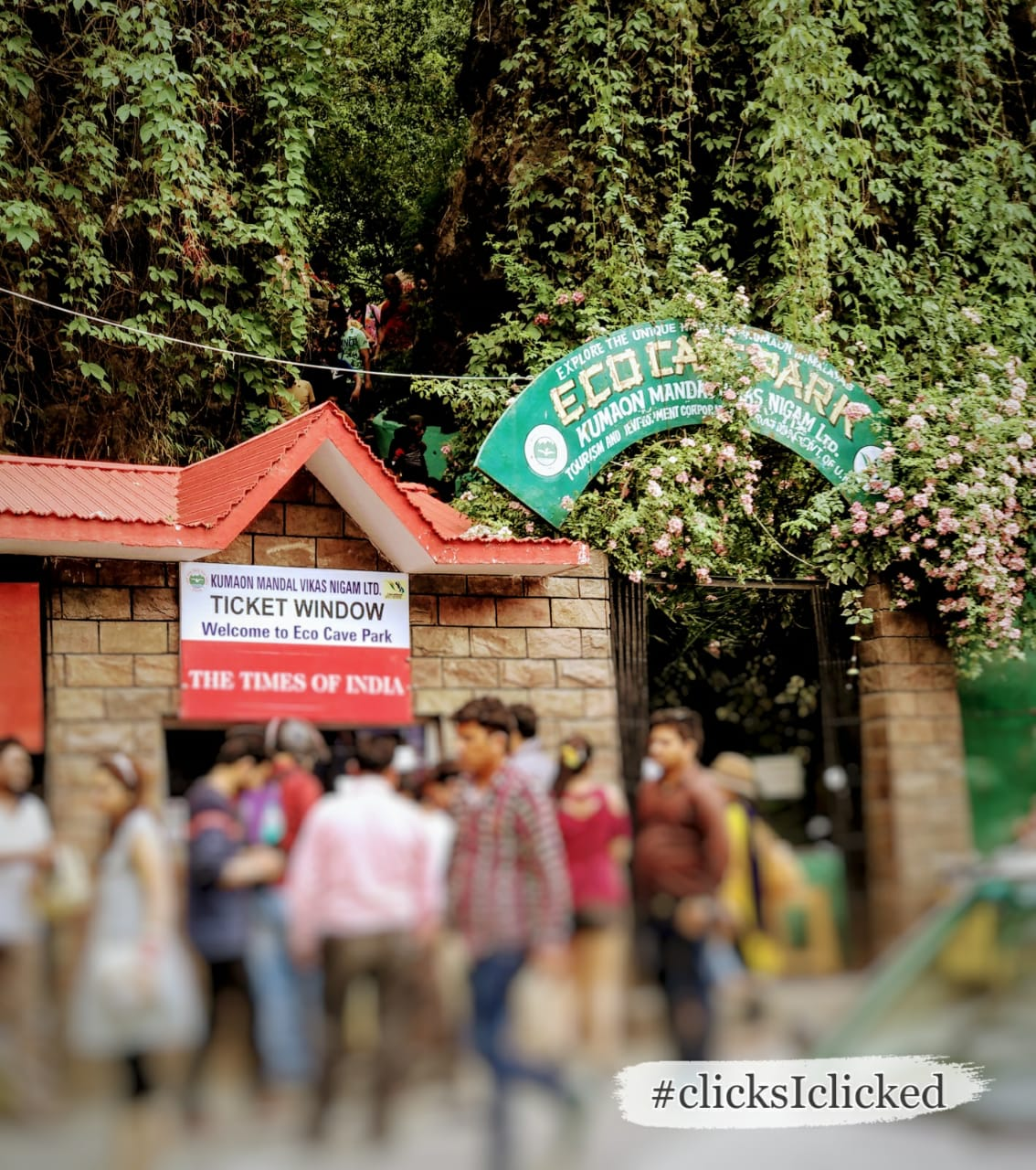 Caves at Nainital, Eco cave park