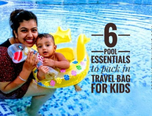 6 Pool Time Essentials to pack in travel bag for kids
