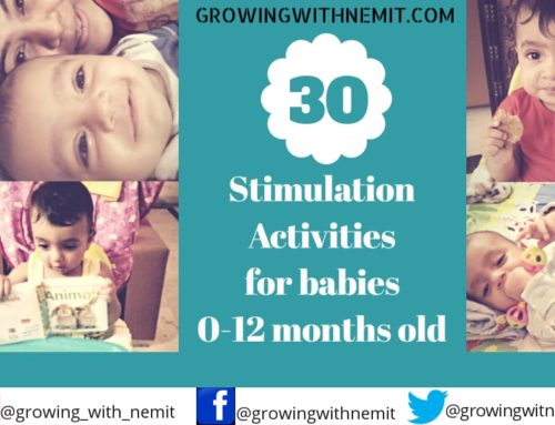 30 Stimulation Activities for a baby's cognitive development