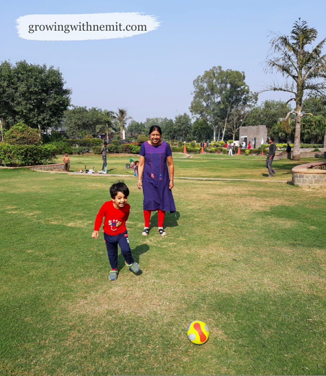 Plan a Picnic Day with your family at Indraprastha Park, Delhi