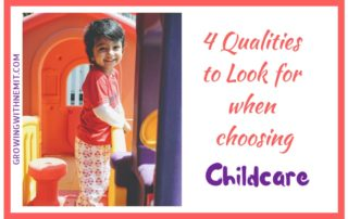 4 qualities to look for when choosing childcare
