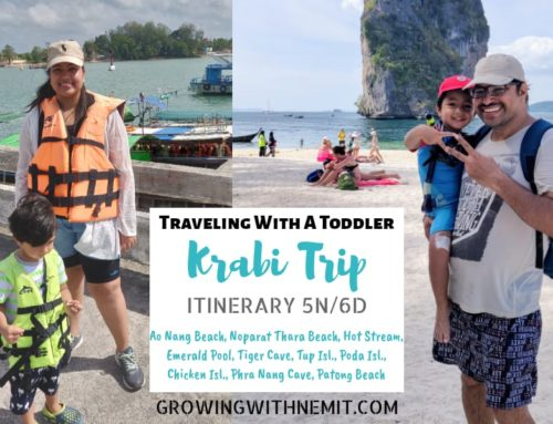Krabi Trip Itinerary – Traveling With a Toddler