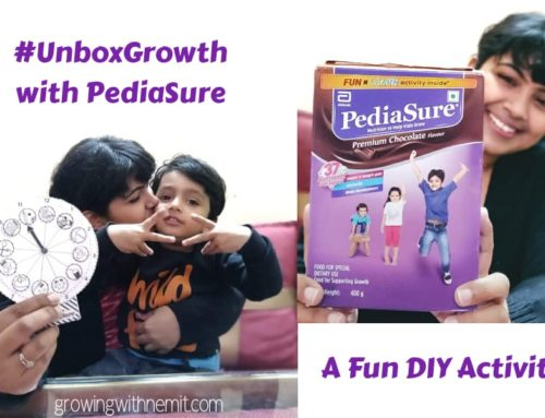 A Fun DIY Activity with PediaSure – Unboxing Growth & Learning