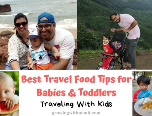 How to manage Food for Babies & Toddlers while Traveling?