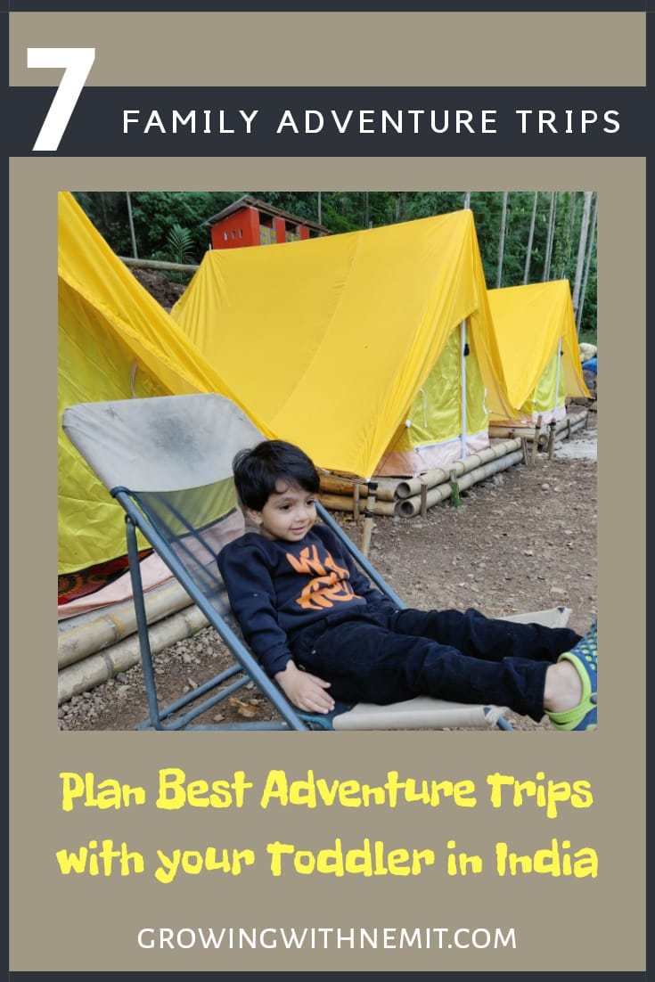 Family Adventure Trips with a Toddler