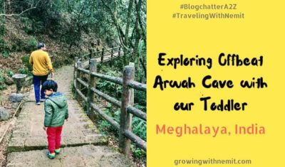 Exploring offbeat arwah caves in meghalaya