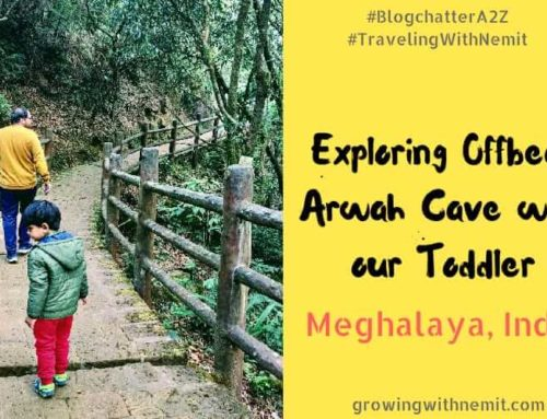 The Caves in Meghalaya – Exploring Offbeat Arwah Cave with our Toddler