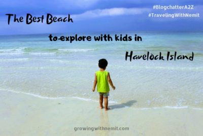 Best beach to explore with kids in Havelock Island