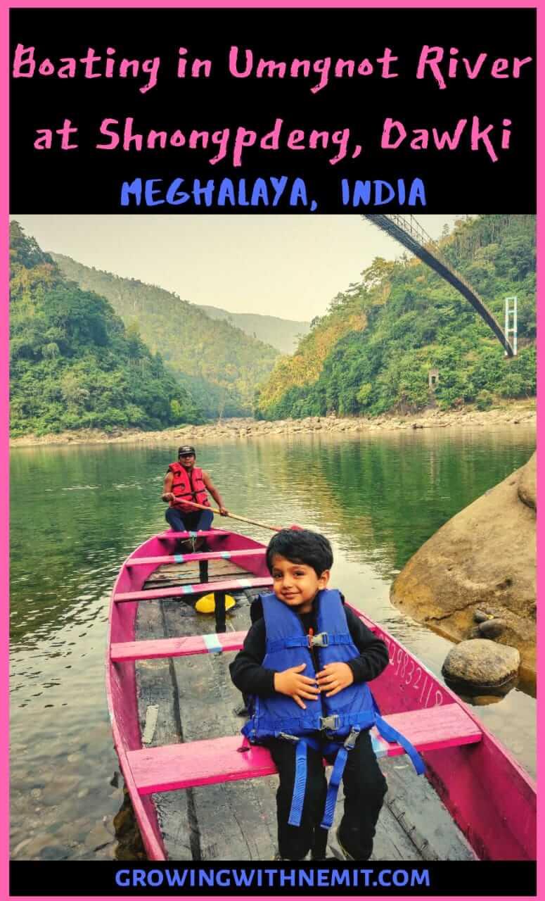 Boating at Shnongpdeng