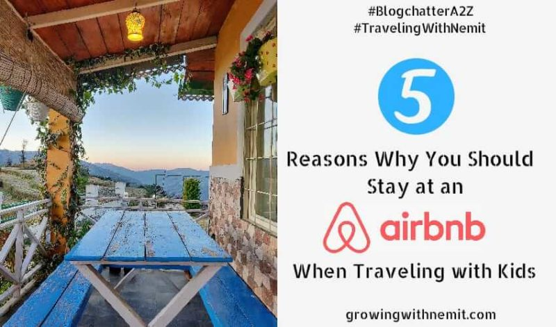 Why You Should Book an Airbnb when Traveling with Kids?