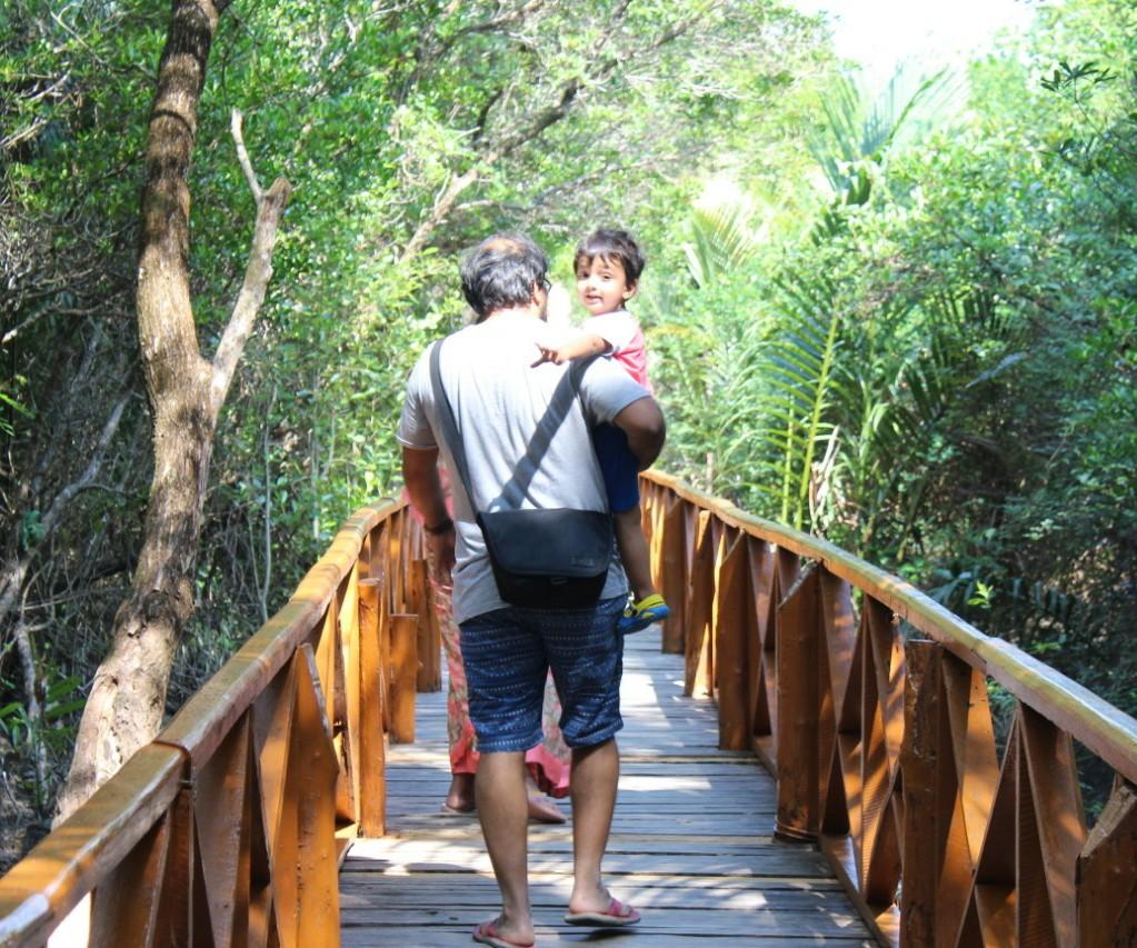 Dhaninallah boardwalk