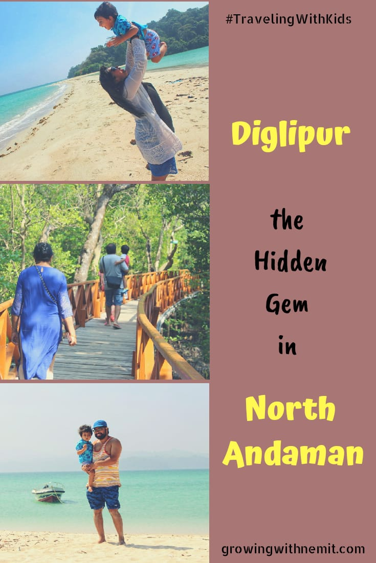 Diglipur in North Andaman #Travel #TravelWithKids #TravelingWithKids #Vacation #India #Andaman #Diglipur #Beach