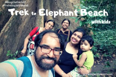 Elephant Beach - Trek with kids in Havelock Island