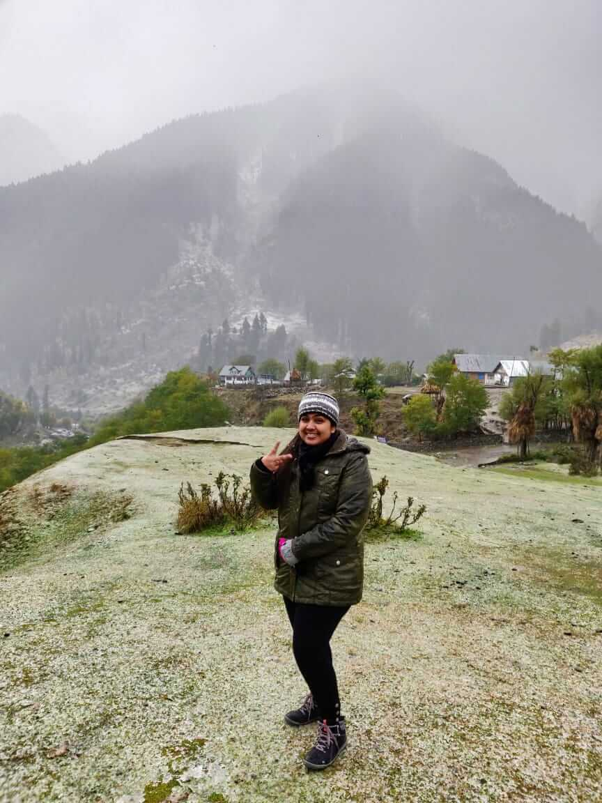 At Aru valley, pahalgam