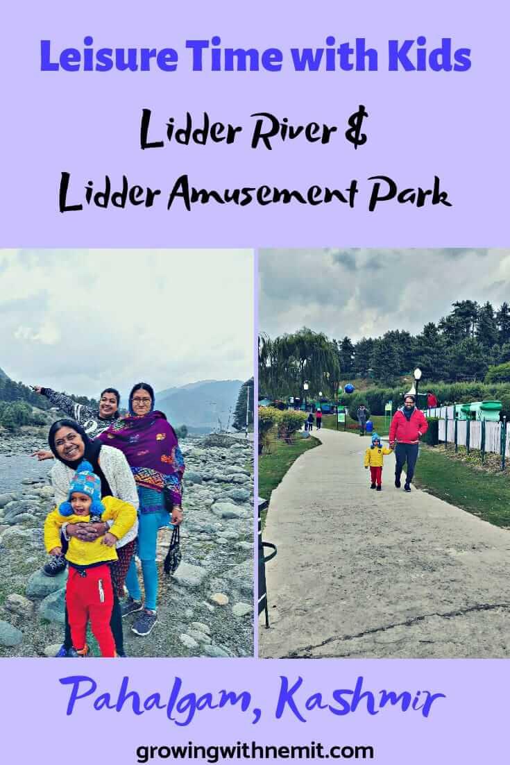 Lidder River & Lidder Amusement Park, Pahalgam – Leisure Time with Kids Pin