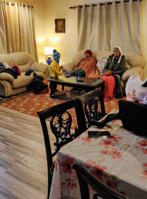 Our Living room at Orange County Cottage, Mukteshwar