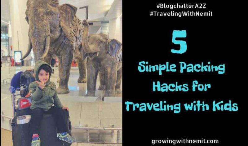 Packing hacks when traveling with kids