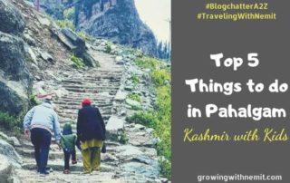 A day in Pahalgam, Kashmir