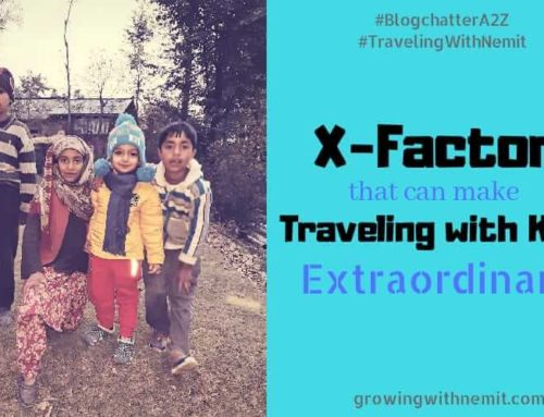 The X Factor that can make Traveling with Kids Extraordinary