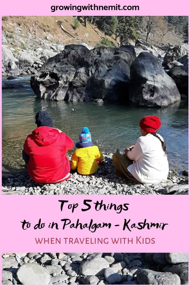 A day in Pahalgam, Kashmir. Top 5 things to do in Pahalgam when traveling with kids