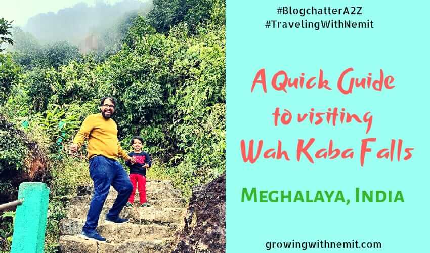 Waterfalls in Cherrapunjee - A Quick Guide to Wah Kaba Falls