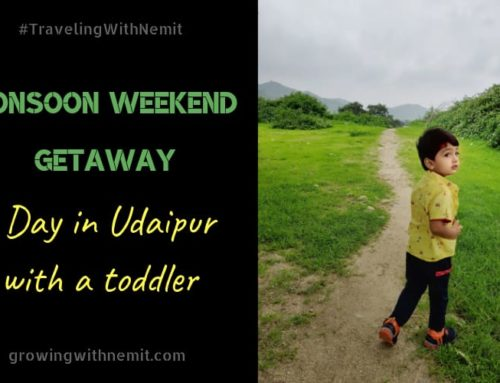 Monsoon Weekend Getaway – A Day in Udaipur with a Toddler