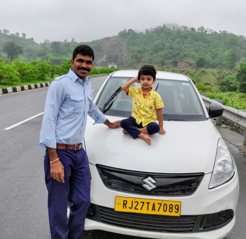 Monsoon weekend getaway Udaipur with toddler