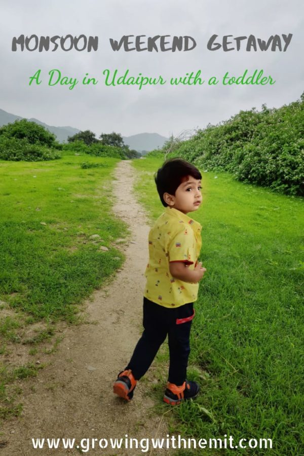 Monsoon weekend getaway Udaipur with toddler #travelwithkids #travelwithatoddler #travelwithtoddlers #udaipur #travelinida #travelingwithkids