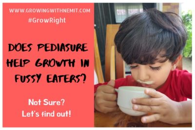 Does PediaSure help growth in fussy eaters? #GrowRight