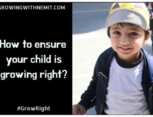 How to ensure that your child is growing right?